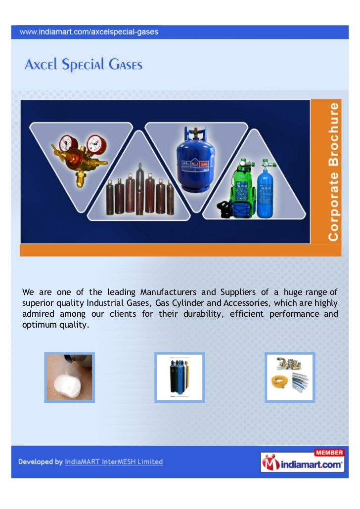 We are one of the leading Manufacturers and Suppliers of a huge range ofsuperior quality Industrial Gases, Gas Cylinder an...