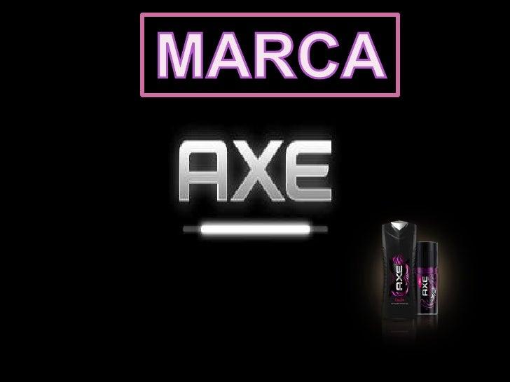 El producto AXE, surge como undesodorante para hombres entre                                     HISTORIlos 20 y los 30 añ...