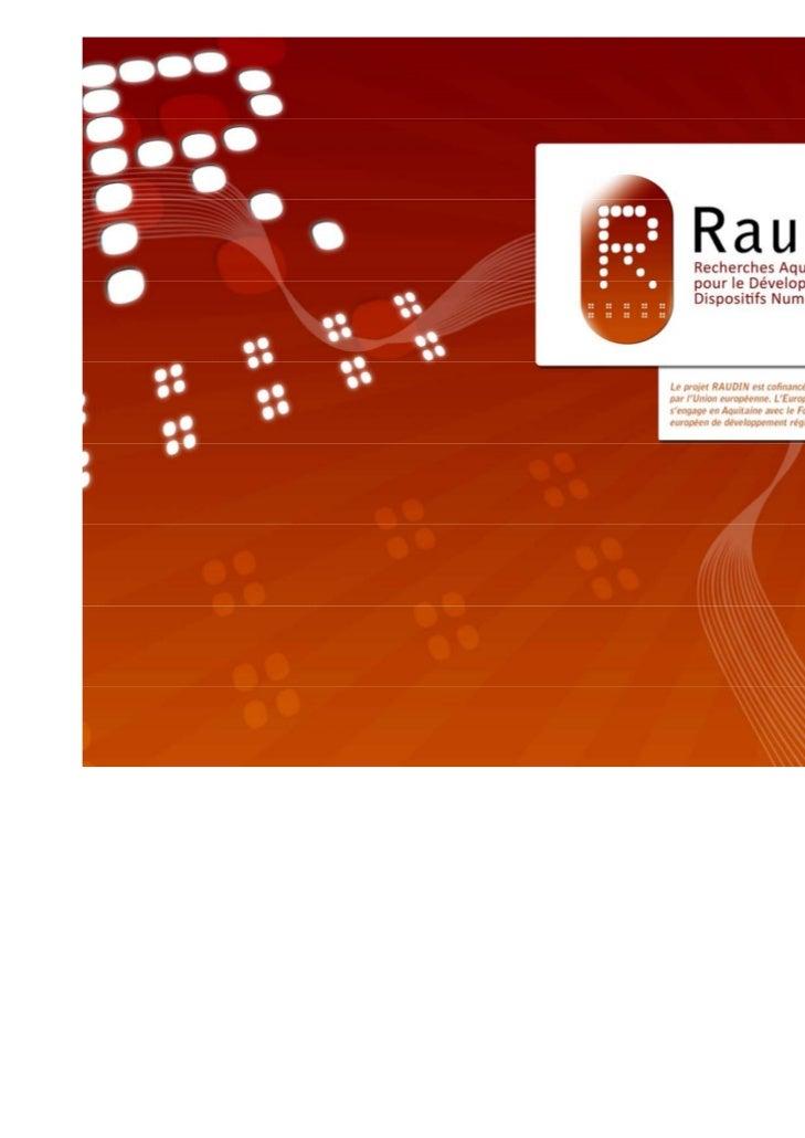 Sommaire    1. Objectifs du groupe « Territoire numérique et formation »    2. Données à l'échelle régionale    3. Les str...