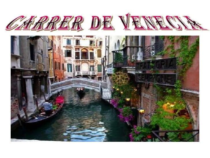 k Carrer de Venecia