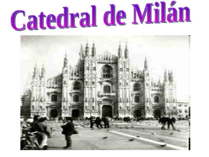 d Catedral de Milán
