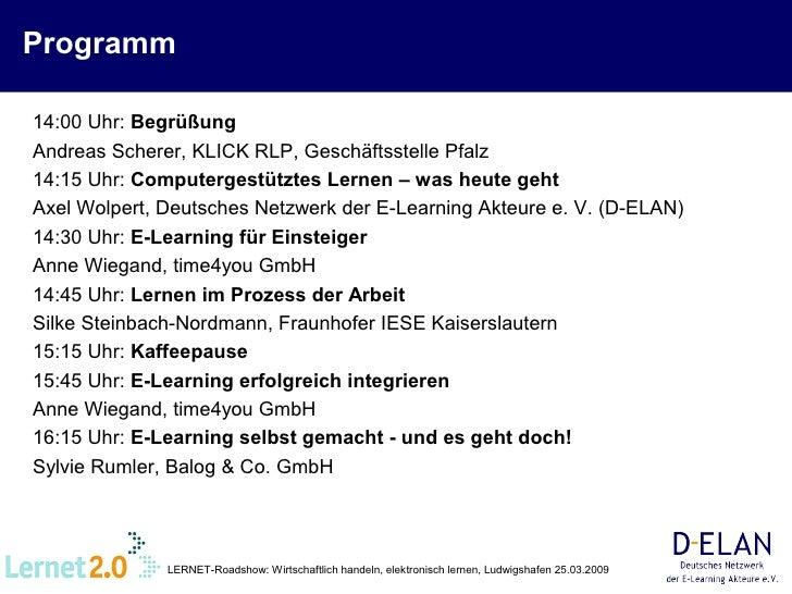 Axel Wolpert: Computergestütztes Lernen - Was geht heute? Ein Überblick Slide 2