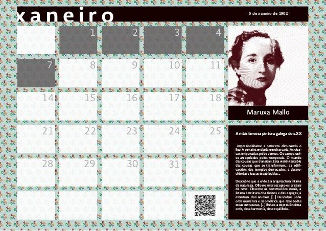 1 2 3 4 7 8 9 10 11 14 15 16 17 18 21 22 23 24 25 3128 29 30 Maruxa Mallo A m�is famosa pintora galega do s.XX ..impresion...