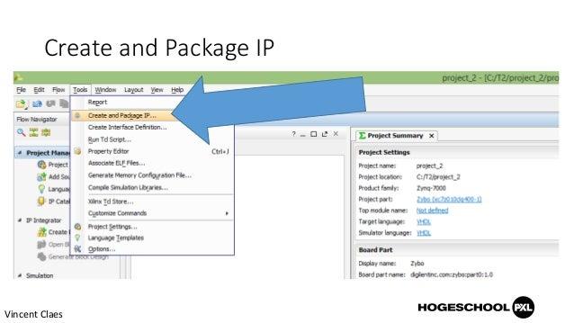Integrating a custom AXI IP Core in Vivado for Xilinx Zynq