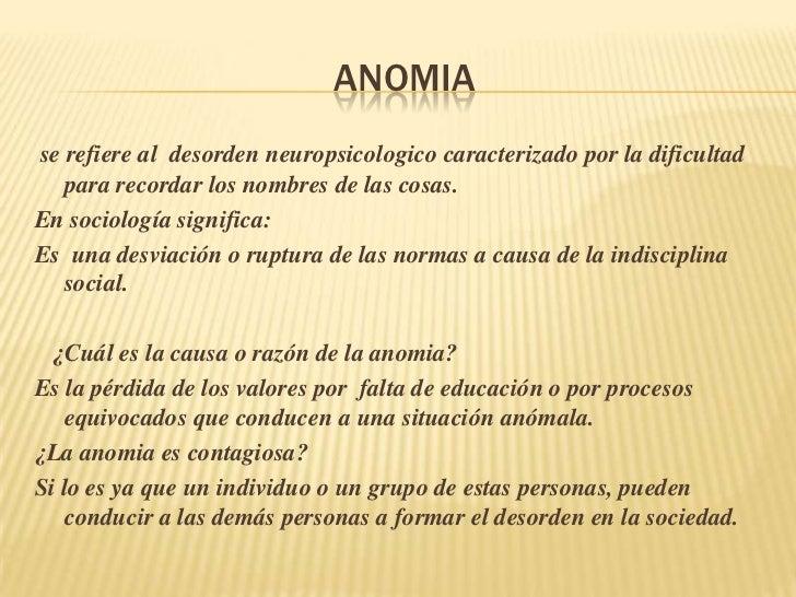 axiologia y anomia, Skeleton