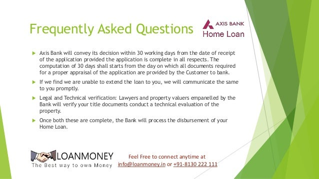 axis bank pre approved personal loan documents