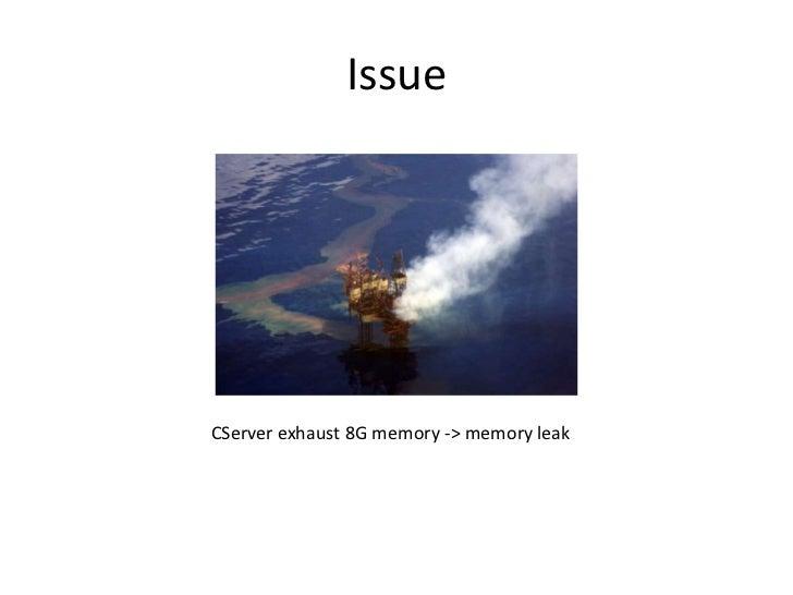 Axis2 client memory leak