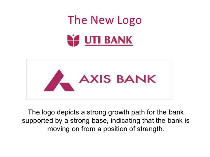 The New Logo The logo depicts a strong growth path for the bank supported by a strong base, indicating that the bank is mo...