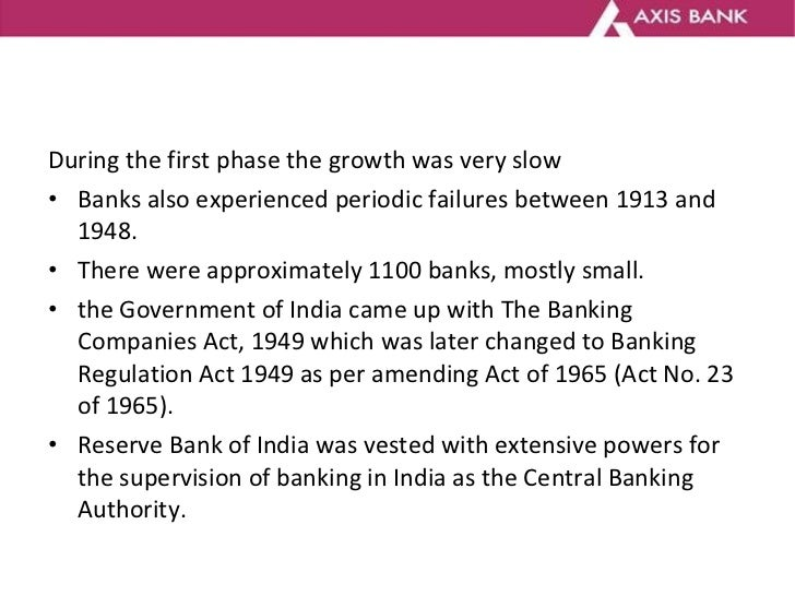 <ul><li>During the first phase the growth was very slow  </li></ul><ul><li>Banks also experienced periodic failures betwee...