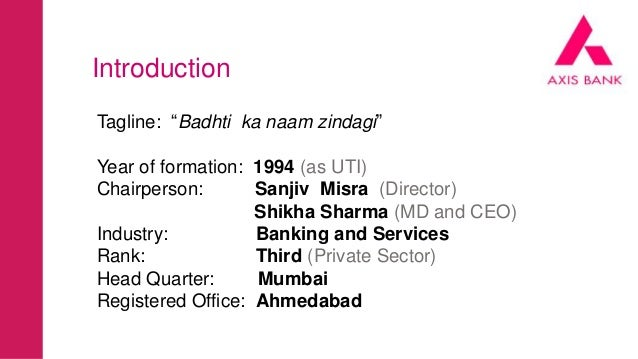 Axis Bank : Badhti Ka Naam Zindagi