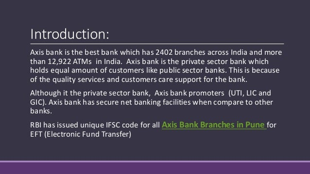 axis bank chikhli branch pune