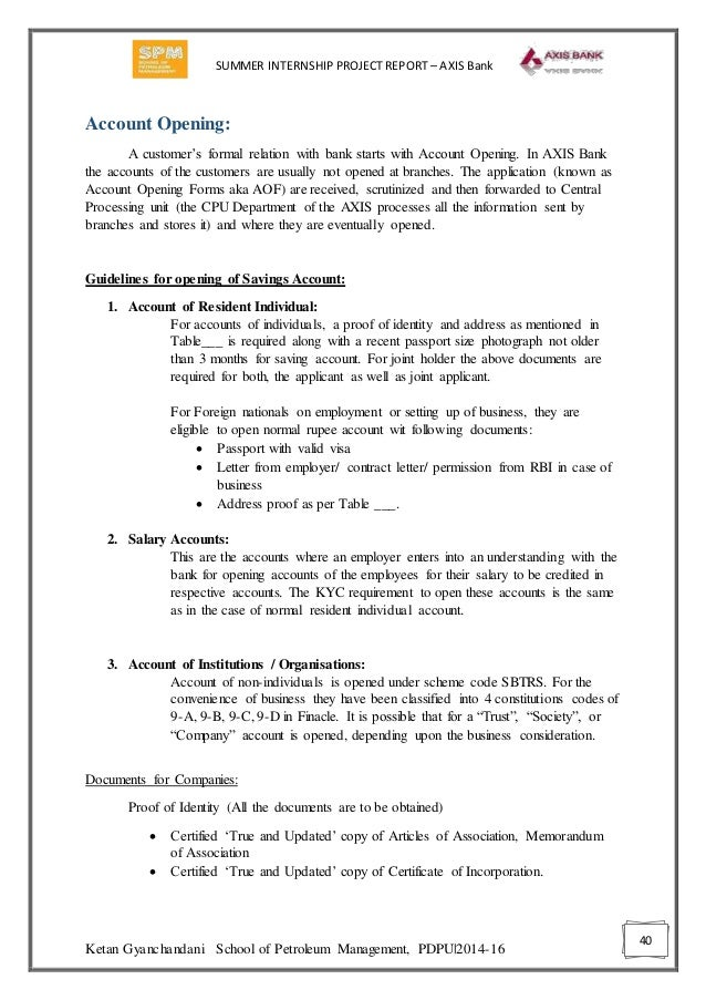 summer training report on axis bank Documents similar to axis+bank+summer+internship+project+report+on+finance3 skip carousel carousel previous carousel next axis bank final axis bank axis-bank.