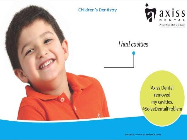 Children's Dentistry Website – www.axissdental.com
