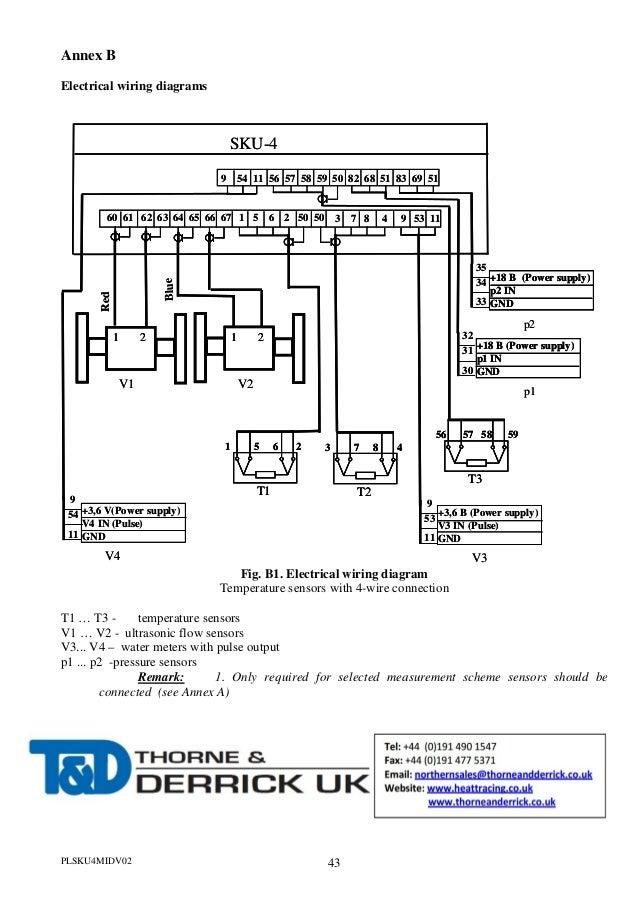 Heat Meter Wiring Diagram | Online Wiring Diagram on