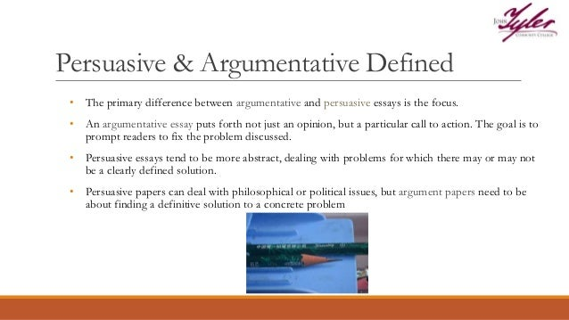 argument and persuation paper 5 writing argument and persuasion 5a most of your essay and research paper assignments will ask you to construct the implications of your argument.