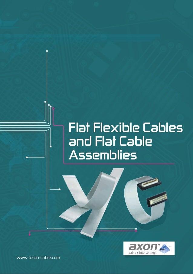 Axon ffc flat-cables