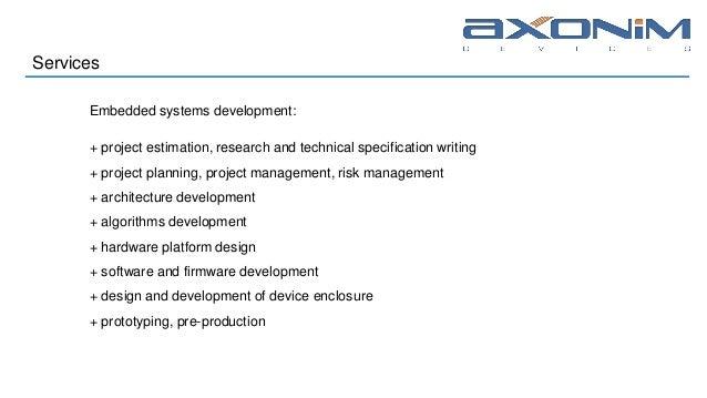 AXONIM 2018 embedded systems development
