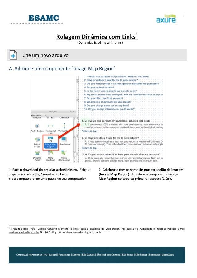 1     Rolagem  Dinâmica  com  Links1   (Dynamics  Scrolling  with  Links)               Crie  um...