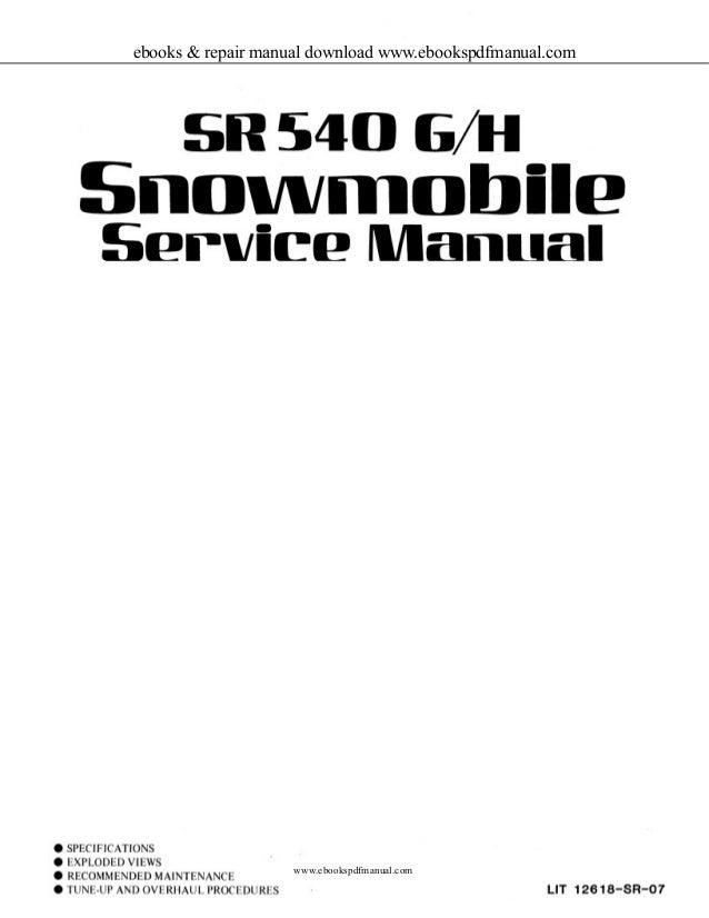 sr400 manual ebook