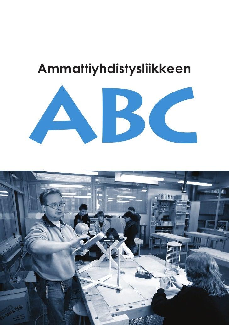 AmmattiyhdistysliikkeenABC