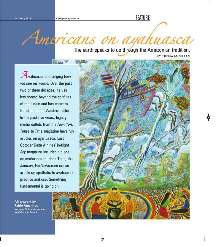 Americans on Ayahuasca from Catalyst Magazine