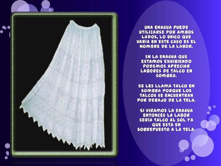 0d79cbe09 Ayala, bertha enaguas de la pollera