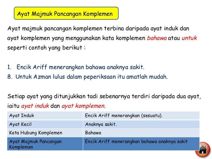 Contoh Ayat Kata Majmuk Yang Telah Mantap Ngawi Seo