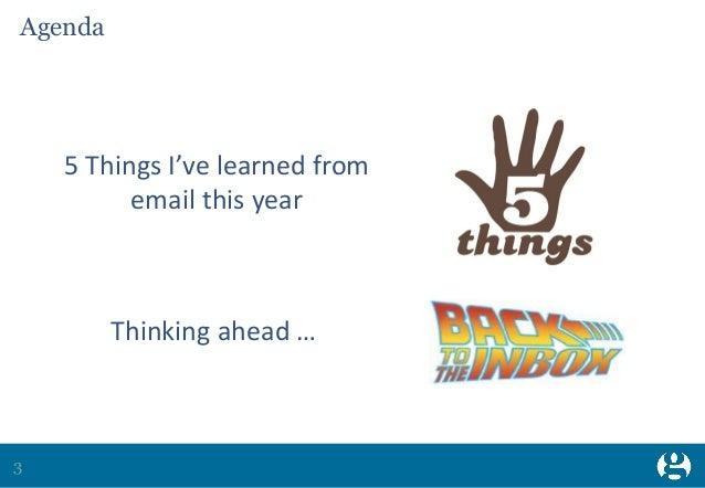 A year in email - Maya Bull Slide 3