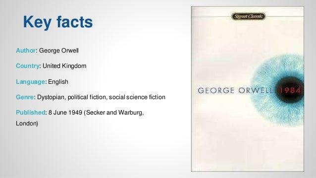 george orwells 1984 fiction or reality essay