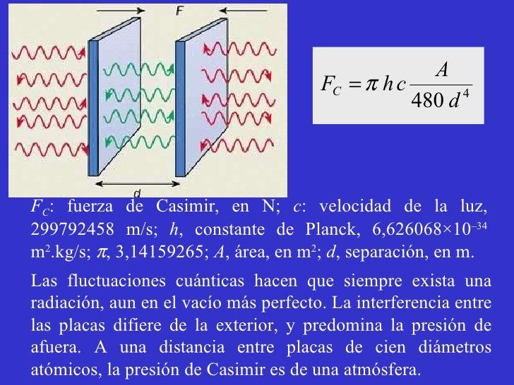 Resultado de imagen de Fuerza Casimir