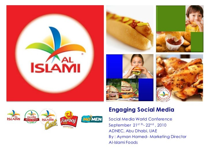 Engaging Social MediaSocial Media World ConferenceSeptember 21st th- 22nd , 2010ADNEC, Abu Dhabi, UAEBy : Ayman Hamed- Mar...