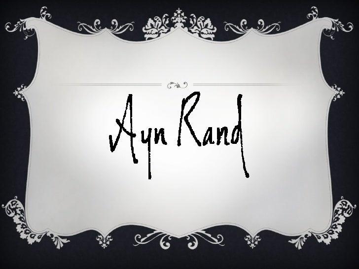 Ayn Rand par mulsant legrand hypolite Slide 2