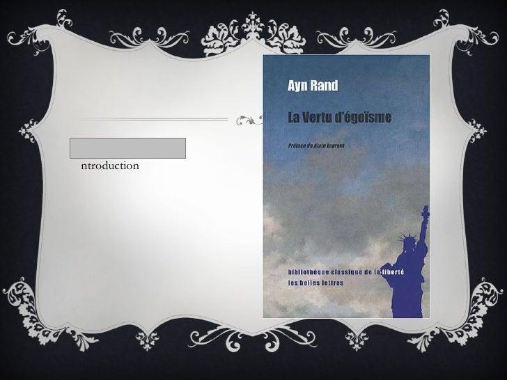 Ayn Rand par mulsant legrand hypolite Slide 3