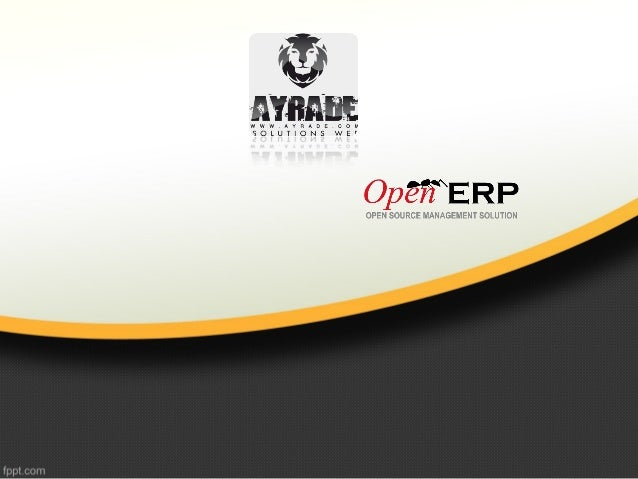 Définition •Leader des ERP Open Source, Un Progiciel de gestion complet (PGI), en mode SaaS destinée aux PME et TPE. offre...