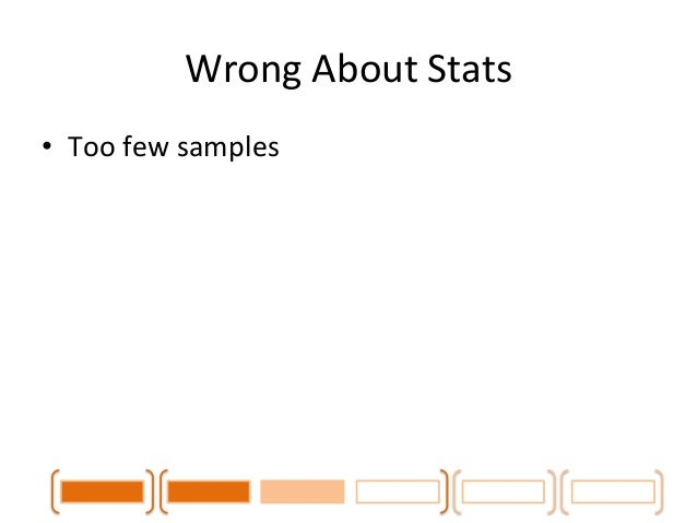 Wrong  About  Stats  120  100  80  60  40  20  0  Convergence  of  Median  on  Samples  0  10  20  30  40  50  60  Latency...