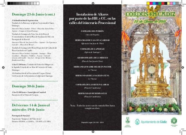 Instalación de Altares por parte de las HH. y CC. en las calles del itinerario Procesional COFRADÍA DEL PERDÓN (Arco del P...