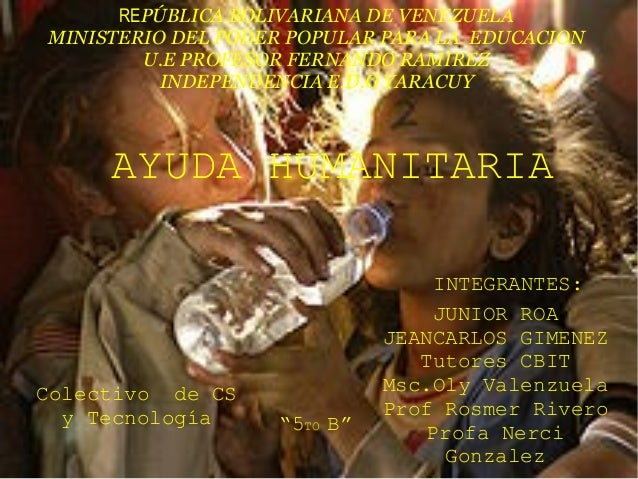 REPÚBLICA BOLIVARIANA DE VENEZUELA MINISTERIO DEL PODER POPULAR PARA LA EDUCACION U.E PROFESOR FERNANDO RAMIREZ INDEPENDEN...
