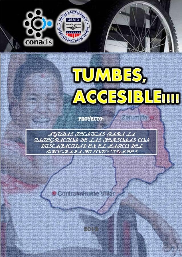 Proyecto:                       AYUDAS TECNICAS PARA LA INTEGRACION DE LAS                         PERSONAS CON DISCAPACID...