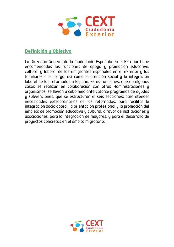 Ayudas y subvenciones para los espa oles en el exterior for Accion educativa espanola en el exterior