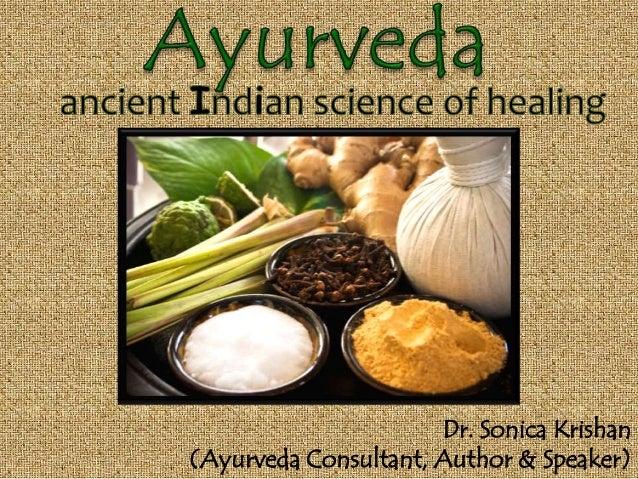 Dr. Sonica Krishan (Ayurveda Consultant, Author & Speaker)