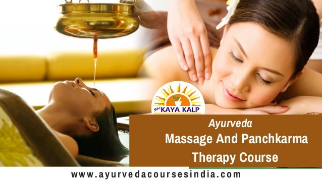 Ayurveda Training Courses in India | Ayurveda certificate