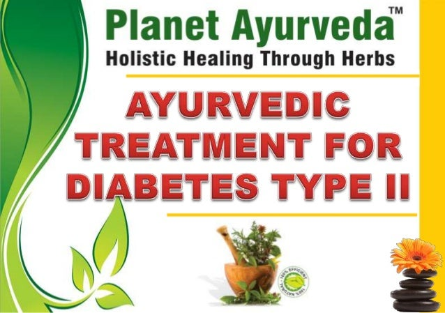 "Ayurveda clearly states diabetes as ""Yapay"" disease, that is the one that lingers on throughout the lifespan of the person..."