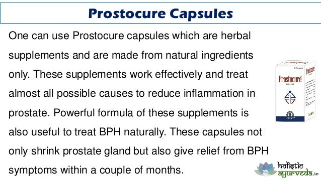 How To Treat Bph Naturally