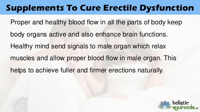 Cure Erection Problems Naturally