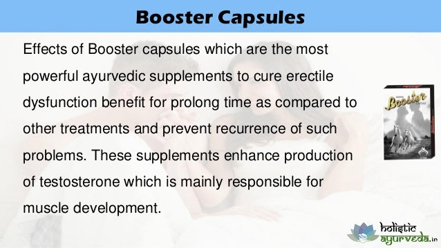 Ayurvedic Supplements To Cure Erectile Dysfunction And