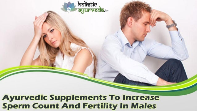 Can sperm count increase fertility herbs long time