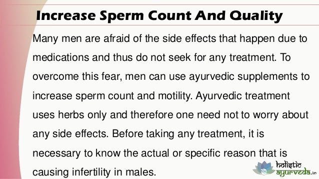 Ayurvedic Supplements To Increase Sperm Count And Quality