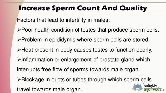 Improve quality sperm