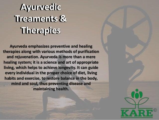 ayurvedic treaments therapies