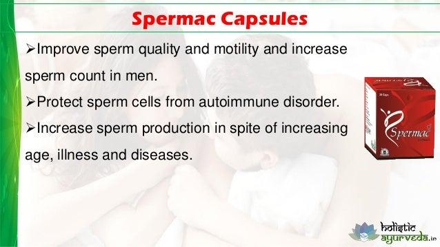 Sperm quality and illness